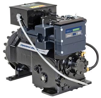 4MU-25X Полугерметичный поршневой компрессор Copeland