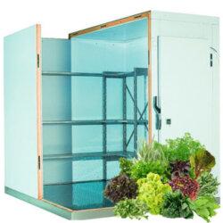 Холодильная камера для хранения 1 тонны зелени