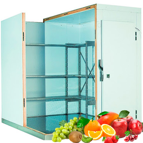 Холодильная камера для хранения 10 тонн фруктов