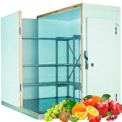 Холодильная камера для хранения 20 тонн фруктов