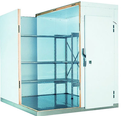 Холодильная камера среднетемпературная (0С…+4С) для хранения 8 тонн продуктов