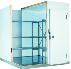 Морозильная камера (-16С) для хранения 10 тонн замороженных продуктов
